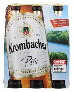 Krombacher Pils  (6 x 0,33 l) - 4008287055160