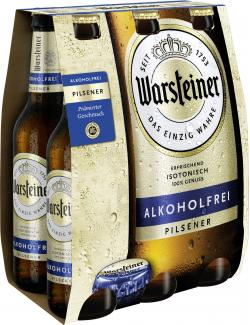 Warsteiner Alkoholfrei isotonisch  (6 x 0,33 l) - 4000856105870