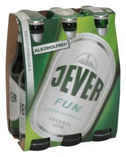 Jever Fun alkoholfrei  (6 x 0,33 l) - 4008948192012