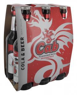 Cab Cola & Beer  (6 x 0,33 l) - 4008287070118