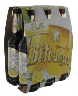Bitburger Radler  (6 x 0,33 l) - 4102430017125