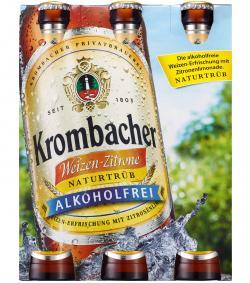 Krombacher Weizen-Zitrone alkoholfrei  (6 x 0,33 l) - 4008287903010
