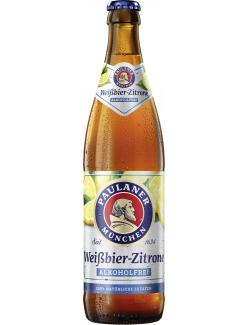 Paulaner Weißbier-Zitrone alkoholfrei  (500 ml) - 4066600642022