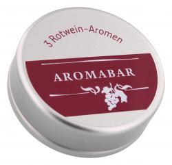 Aromabar Schnupperdose Rotwein-Aromen  - 4260204389172