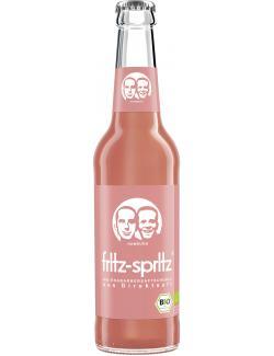 Fritz-Spritz Bio-Rhabarbersaftschorle  (330 ml) - 4260107222415