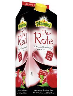Pfanner Der Rote Zitrone-Granatapfel  (2 l) - 9006900014773