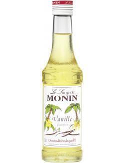 Monin Sirup Vanille  (250 ml) - 4008077744212