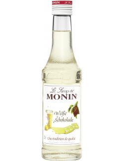 Monin Sirup weiße Schokolade  (250 ml) - 4008077744618