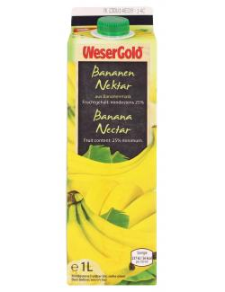 Wesergold Bananen-Nektar  (1 l) - 40413099
