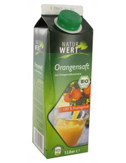 NaturWert Bio Orangensaft  (1 l) - 4105550242200