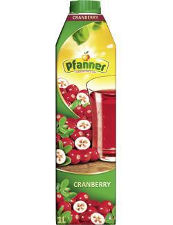 Pfanner Cranberry  (1 l) - 9006900207007