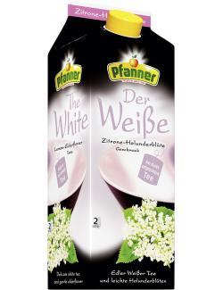 Pfanner Der Weiße Zitrone-Holunderblüte  (2 l) - 9006900212131