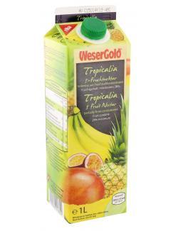 Wesergold Tropical 5-Fruchtnektar  (1 l) - 4100060018604