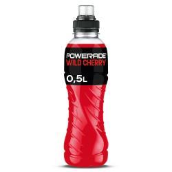 Powerade Sports Wild Cherry  (500 ml) - 5000112571356