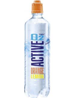 Active O2 Two Erfrischungsgetränk Orange Guave  (750 ml) - 4005906274704