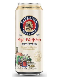 Paulaner Hefe-Weißbier  (500 ml) - 4066600201922