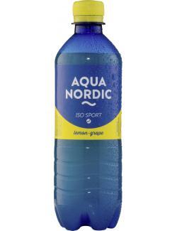 Aqua Nordic Iso Sport Lemon Grape  (500 ml) - 4027109902079