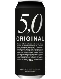 5,0 Original Pils  (500 ml) - 4014086093364