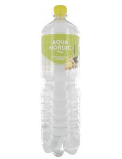 Aqua Nordic Erfrischungsgetränk Zitronengras Ingwer  (1,50 l) - 4027109908255