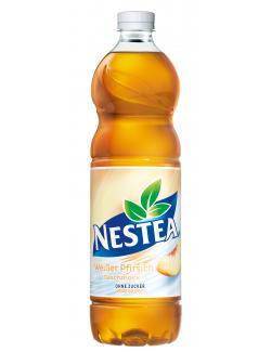 Nestea Weißer Pfirsich ohne Zucker  (1,50 l) - 5000112585629