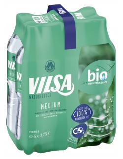 Vilsa Brunnen Medium  (6 x 0,75 l) - 2000422199946