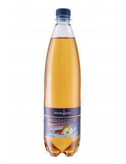 Küstengold Wasser + Frucht Apfel-Rhabarber  (1 l) - 4027109908934