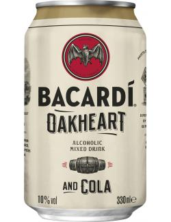 Bacardi Oakheart & Cola  (330 ml) - 5010677740098