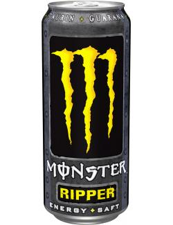 Monster Ripper Energy + Saft  (500 ml) - 4051415000051