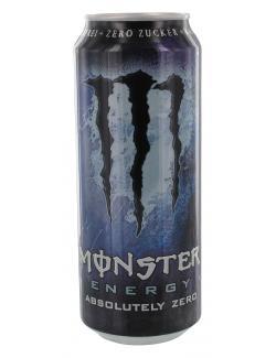 Monster Energy Absolutely zero  (500 ml) - 5060166697716