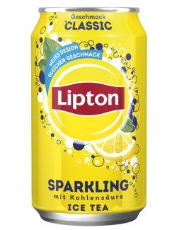 Lipton Ice Tea Sparkling Classic  (330 ml) - 4000400129499