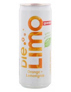 Granini Die Limo Orange + Lemongras  (330 ml) - 4048517606939
