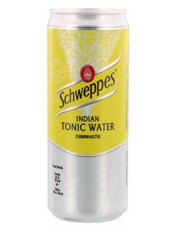 Schweppes Indian Tonic Water  (330 ml) - 4000140705113