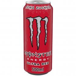 Monster Energy Ultra Red  (500 ml) - 5060337500609