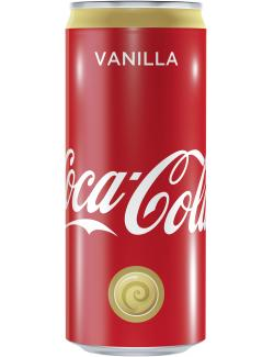 Coca Cola Vanilla  (330 ml) - 4260231223128
