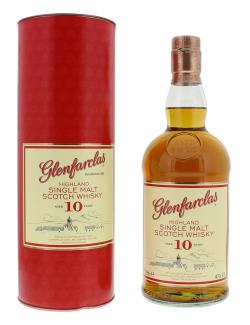 Glenfarclas Highland Single Malt Scotch Whisky 10 years  (700 ml) - 5018066104018