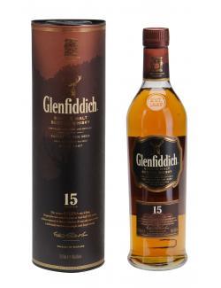 Glenfiddich Solera Single Malt Scotch Whisky 15 years  (700 ml) - 5010327325125