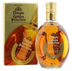 Dimple Golden Selection Blended Scotch Whisky  (700 ml) - 5202289107370