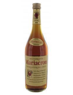 Mariacron Weinbrand  (700 ml) - 4045144710701
