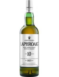Laphroaig Islay Single Malt Scotch Whisky 10 years  (700 ml) - 4062400254601