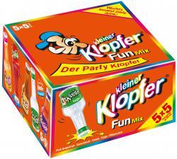 Kleiner Klopfer Fun Mix  (25 x 0,02 l) - 4029884011175