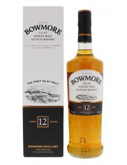Bowmore Islay Single Malt Scotch Whisky 12 years  (700 ml) - 5010496080818