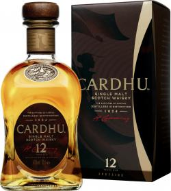 Cardhu 12 Years Single Malt Scotch Whisky  (700 ml) - 4003922001090