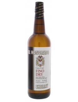 El Honorado Sherry Fino Dry  (750 ml) - 4306180123628