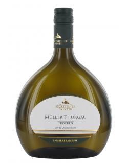 Becksteiner Winzer Müller Thurgau trocken  (750 ml) - 4101580010048