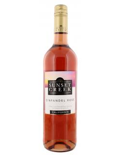 Sunset Creek Zinfandel Roséwein lieblich  (750 ml) - 4006542056945
