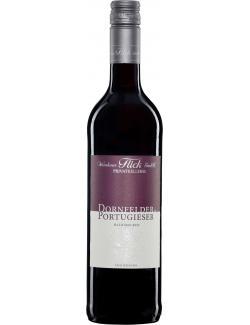 Weinhaus Flick Dornfelder & Portugieser Rotwein halbtrocken  (750 ml) - 4006741276397
