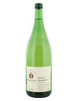 Bercher Weißer Burgunder Weißwein trocken  (1 l) - 2000420242613