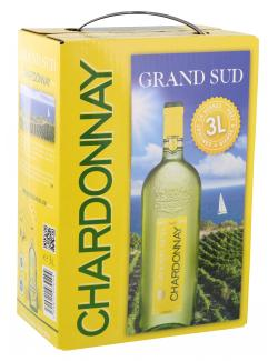 Grand Sud Chardonnay Weißwein trocken  (3 l) - 3500610039294