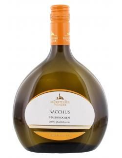 Becksteiner Winzer Bacchus Weißwein halbtrocken  (750 ml) - 4101580010215
