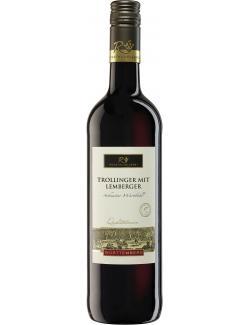Remstalkellerei Schnaiter Wartbühl Trollinger mit Lemberger Rotwein halbtrocken  (750 ml) - 4000748016413
